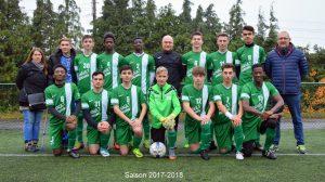 Seraing Athlétique U19 Juniors régionaux supérieurs Saison 2017-2018