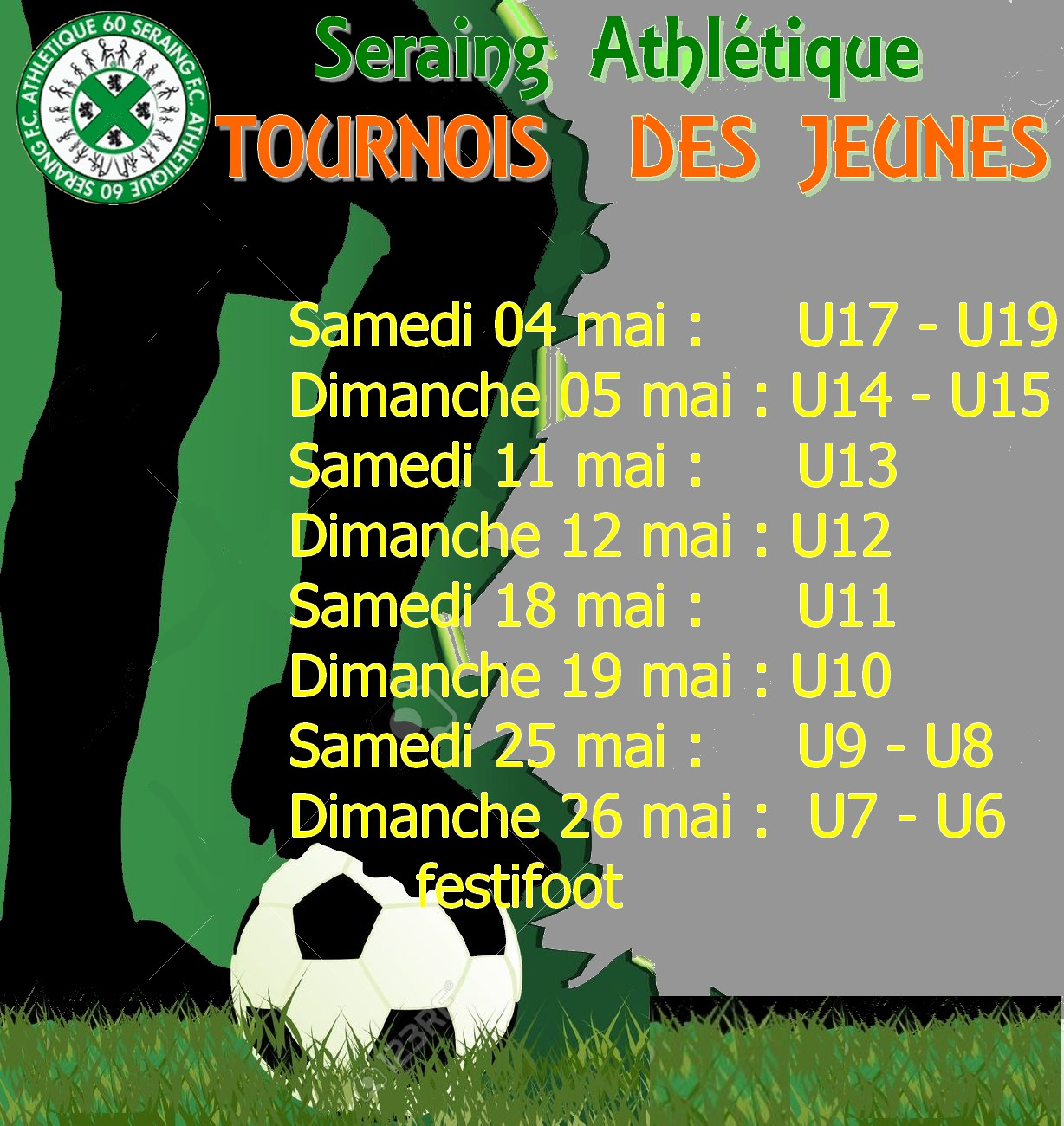 Affiche Tournois Des Jeunes 2019