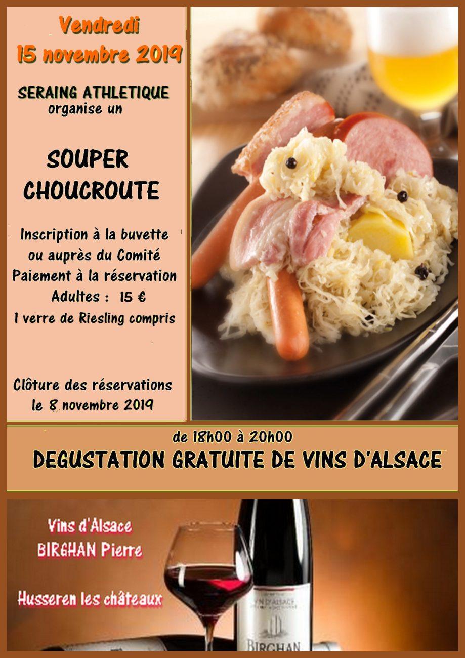 Souper Choucroute 2019